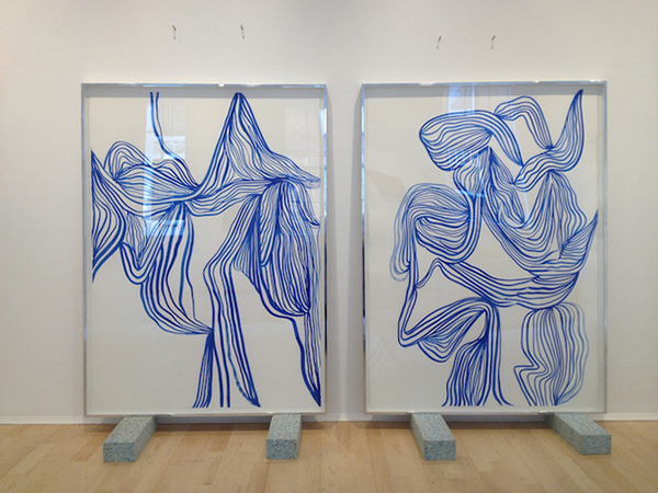 tanya ling line paintings 1