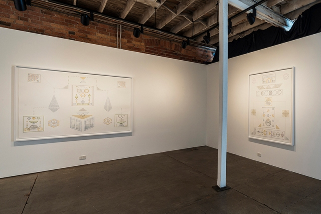 yuria-okamura-forms-and-diagrams-for-harmonic-ideals-installation-view-2