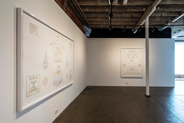 yuria-okamura-forms-and-diagrams-for-harmonic-ideals-installation-view-3
